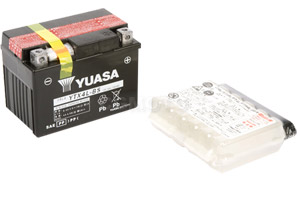 batteria YTX4L-BS Yuasa : 114mm x 71mm x 86mm
