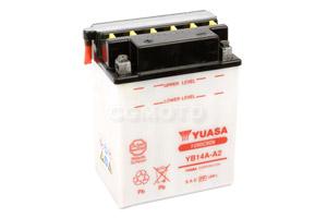 batteria YTR4A-BS Yuasa : 114mm x 49mm x 85mm