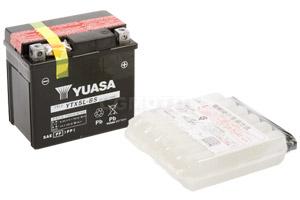 batteria YTX5L-BS Yuasa : 114mm x 71mm x 106mm