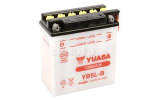 batteria YB5L-B Yuasa : 121mm x 61mm x 131mm