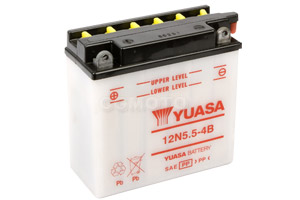 batteria 12N5.5-4B Yuasa : 138mm x 61mm x 131mm