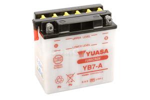 batteria YB7-A Yuasa : 137mm x 76mm x 134mm