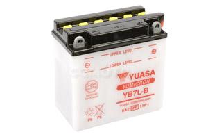 batteria YB7L-B Yuasa : 137mm x 76mm x 134mm