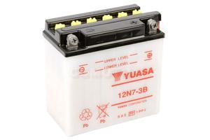 batteria 12N7-3B Yuasa : 137mm x 76mm x 134mm