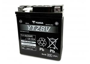 batteria YTZ8-V Yuasa : 113mm x 70mm x 130mm