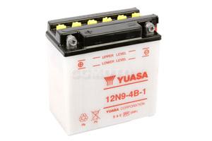 batteria 12N9-4B-1 Yuasa : 137mm x 76mm x 140mm