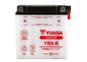 batteria YB9-B Yuasa : 137mm x 76mm x 140mm