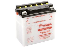 batteria YB9L-A2 Yuasa : 137mm x 76mm x 140mm