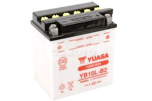 batteria YB10L-B2 Yuasa : 136mm x 91mm x 146mm