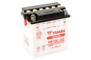 batteria YB10L-A2 Yuasa : 136mm x 91mm x 146mm