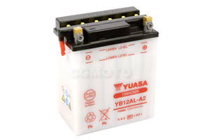 batteria YB12AL-A2 Yuasa : 135mm x 81mm x 161mm