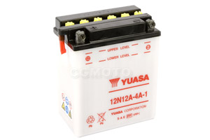 batteria 12N12A-4A-1 Yuasa : 135mm x 81mm x 161mm