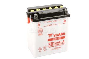 batteria YB12AL-A Yuasa : 134mm x 80mm x 160mm