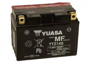 batteria TTZ14S Yuasa : 150mm x 87mm x 110mm