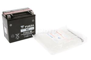 batteria YTX14-BS Yuasa : 150mm x 87mm x 147mm