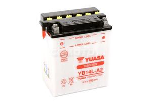 batteria YB14L-A2 Yuasa : 135mm x 91mm x 167mm