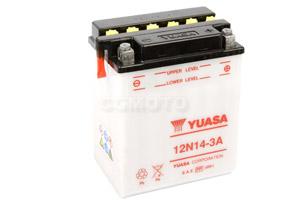 batteria 12N14-3A Yuasa : 135mm x 91mm x 167mm