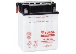 batteria YB14A-A2 Yuasa : 135mm x 91mm x 176mm