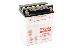 batteria YB14-B2 Yuasa : 135mm x 91mm x 167mm