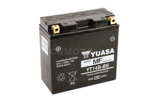 batteria YT14B-BS Yuasa : 150mm x 70mm x 145mm