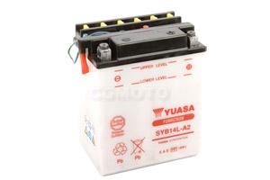 batteria SYB14L-A2 Yuasa : 135mm x 91mm x 167mm