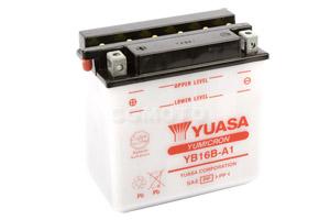 batteria YB16B-A1 Yuasa : 162mm x 92mm x 162mm