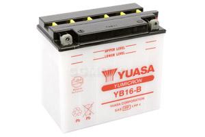batteria YB16-B Yuasa : 176mm x 101mm x 156mm