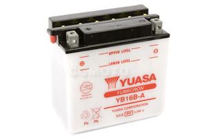 batteria YB16B-A Yuasa : 162mm x 92mm x 162mm