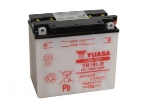 batteria YB16L-B Yuasa : 176mm x 101mm x 156mm