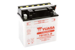 batteria YB16CL-B Yuasa : 175mm x 100mm x 175mm