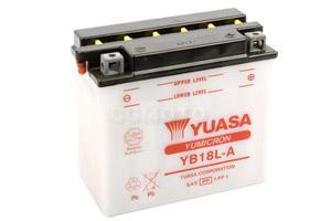 batteria YB18L-A Yuasa : 182mm x 92mm x 164mm