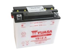 batteria Yb18-a Yuasa : 182mm x 92mm x 164mm