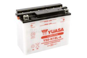batteria Y50-N18L-A Yuasa : 206mm x 91mm x 164mm