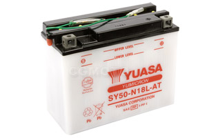 batteria SY50-N18L-AT Yuasa : 206mm x 91mm x 164mm