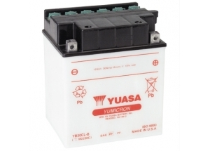 batteria YB30CL-B Yuasa : 168mm x 132mm x 192mm