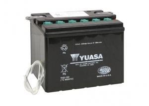 batteria YHD-12 Yuasa : 206mm x 133mm x 165mm