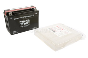 batteria YTX24HL-BS Yuasa : 205mm x 90mm x 162mm