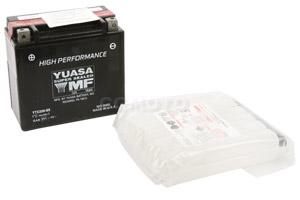 batteria YTX20H-BS Yuasa : 175mm x 87mm x 155mm