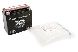 batteria YTX20HL-BS Yuasa : 175mm x 87mm x 155mm