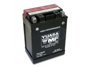 batteria YTX14AH-BS Yuasa : 134mm x 89mm x 166mm
