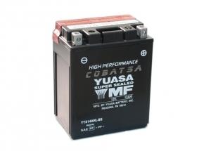batteria YTX14AHL-BS Yuasa : 134mm x 89mm x 166mm