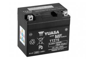 batteria TTZ7-S Yuasa : 114mm x 70mm x 105mm