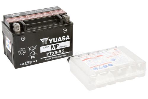Batterie für APRILIA 125ccm Habana//Mojito 125 Baujahr 2000-2004 YTX9-BS